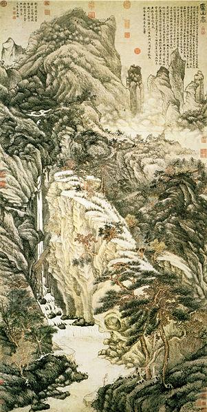 Montagna e cascate